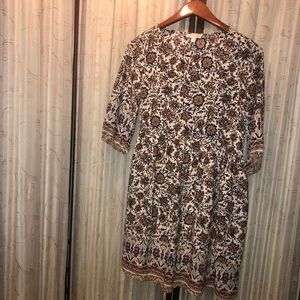 Gianni Bini Boho Patterned Dress